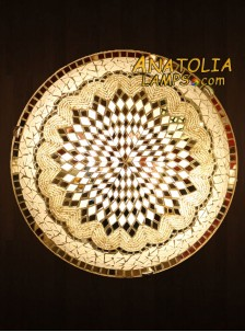 Mozaik Lamba Duvar Lambasi Big Armator-01