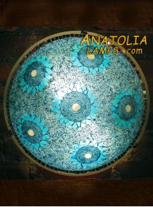 Mozaik Lamba Duvar Lambasi Big Armator-04