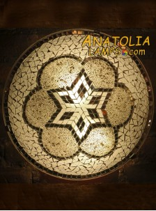 Mozaik Lamba Duvar Lambasi Big Armator-05