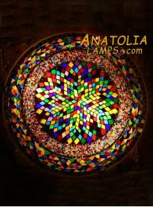 Mozaik Lamba Duvar Lambasi Big Armator-06