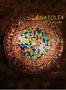 Mozaik Lamba Duvar Lambasi Big Armator-09