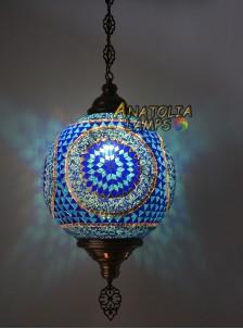 Mozaik Lamba Askılı 30cm Sarkıt Top-27