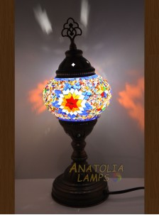Mozaik Lamba Masaüstü Abajur Numara2-03