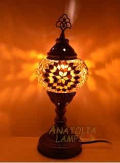 Mozaik lamba masaüstü abajur numara2-06