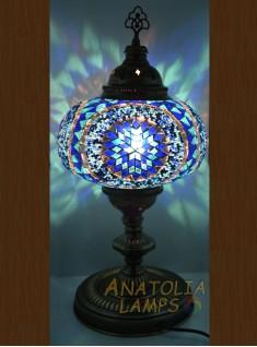 Mozaik Lamba Masaüstü Abajur Numara5-03