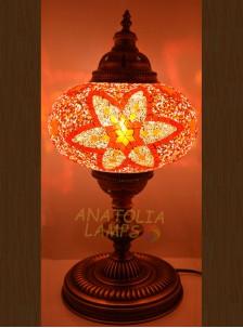 Mozaik Lamba Masaüstü Abajur Numara5-07