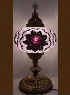 Mozaik lamba masaüstü abajur numara5-11