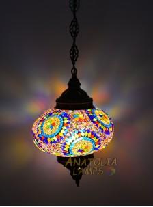 Mozaik Lamba Tekli Sarkıt Large-10